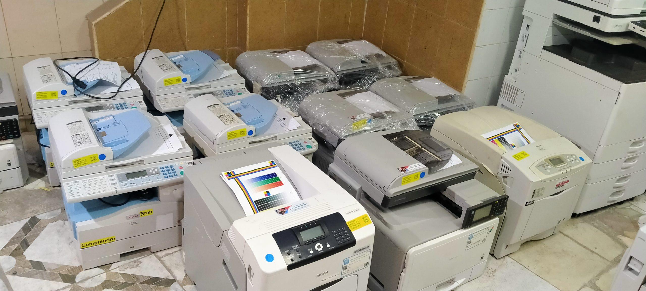 ماكينات تصوير مستندات صغيرة الحجم
